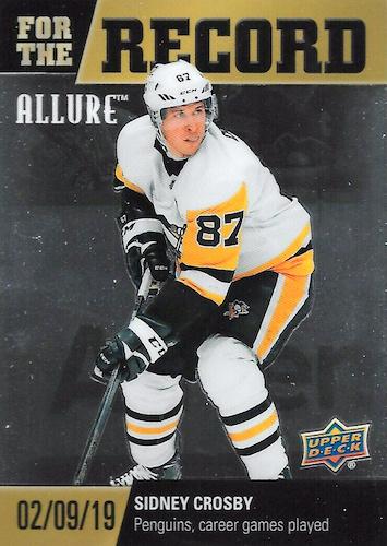 2019-20 Upper Deck Allure Hockey Cards 38