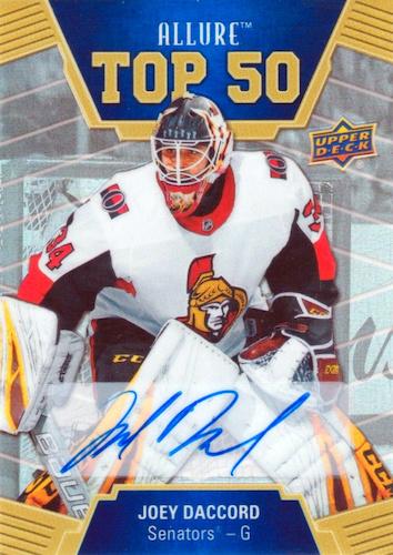 2019-20 Upper Deck Allure Hockey Cards 37