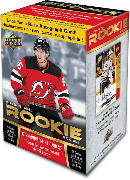 2019-20 Upper Deck NHL Rookie Box Set Hockey Cards 3
