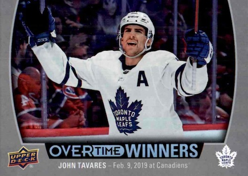 2019-20 Upper Deck Overtime Hockey Cards - Wave 3 Checklist 7