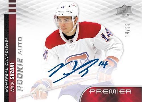 2019-20 Upper Deck Premier Hockey Cards 6