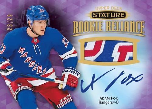 2019-20 Upper Deck Stature Hockey Cards 7