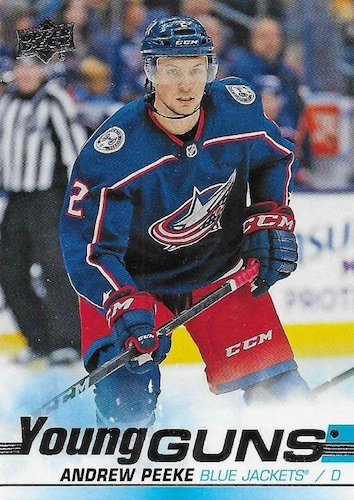 2019-20 Upper Deck Young Guns Rookie Checklist and Gallery 55