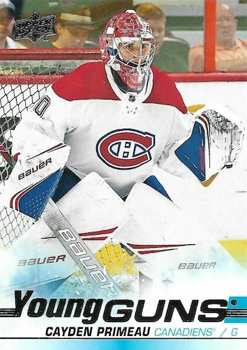 2019-20 Upper Deck Young Guns Rookie Checklist and Gallery 57
