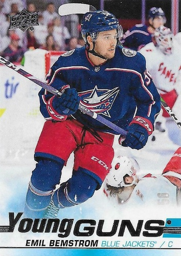 2019-20 Upper Deck Young Guns Rookie Checklist and Gallery 58