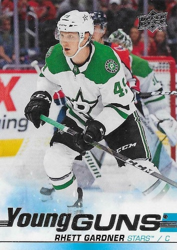 2019-20 Upper Deck Young Guns Rookie Checklist and Gallery 68