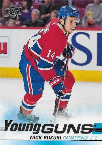 2019-20 Upper Deck Young Guns Rookie Checklist and Gallery 74