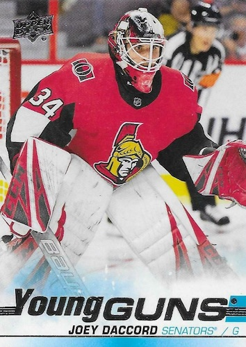 2019-20 Upper Deck Young Guns Rookie Checklist and Gallery 80