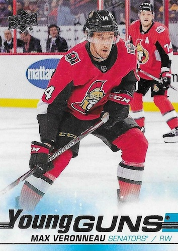 2019-20 Upper Deck Young Guns Rookie Checklist and Gallery 85