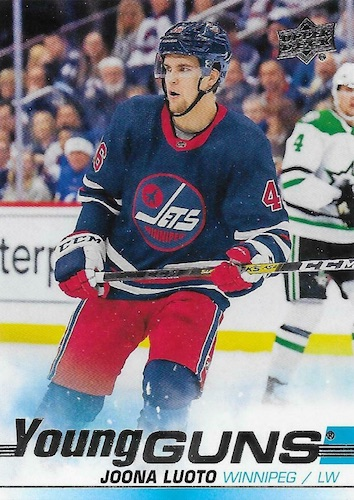 2019-20 Upper Deck Young Guns Rookie Checklist and Gallery 90