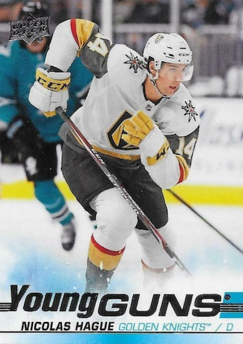 2019-20 Upper Deck Young Guns Rookie Checklist and Gallery 92