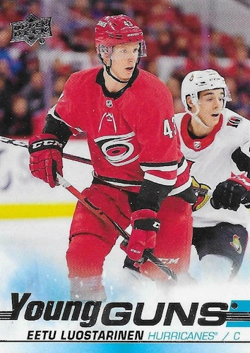 2019-20 Upper Deck Young Guns Rookie Checklist and Gallery 93