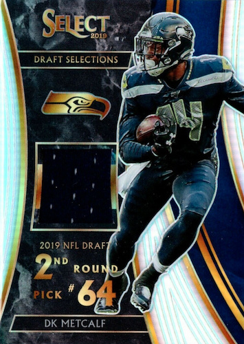 2019 Panini Select Football Cards - XRC Redemption Checklist Added 21
