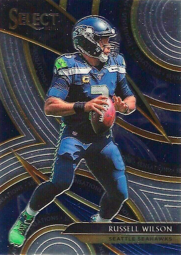 2019 Panini Select Football Cards - XRC Redemption Checklist Added 25