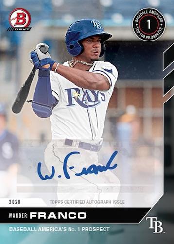 2020 Bowman Next Baseball Cards - 2021 Top Prospects Wave 4 Checklist 6