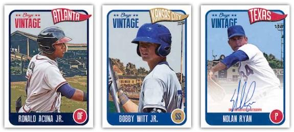 2020 Onyx Vintage Baseball Cards 3