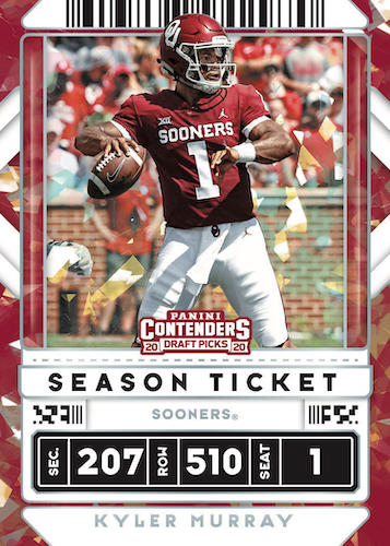 2020 Panini Contenders Draft Picks Football Cards 4