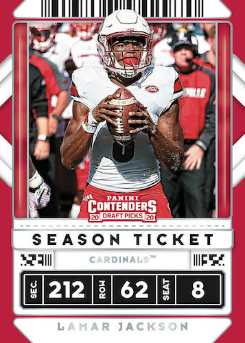2020 Panini Contenders Draft Picks Football Cards 3