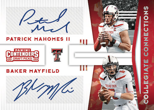 2020 Panini Contenders Draft Picks Football Cards 6