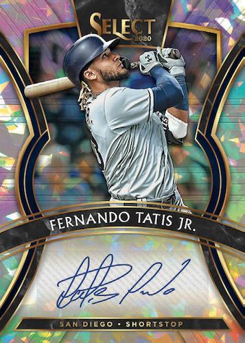 2020 Panini Select Baseball Cards 7
