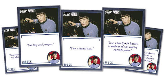 2020 Rittenhouse Star Trek TOS Archives and Inscriptions Trading Cards - Early Checklist 3