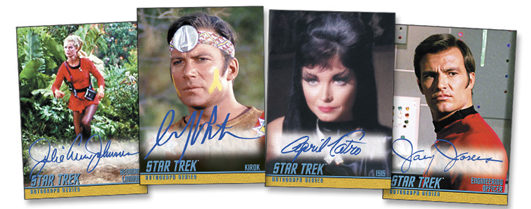 2020 Rittenhouse Star Trek TOS Archives and Inscriptions Trading Cards - Early Checklist 6