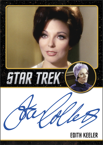 2020 Rittenhouse Star Trek TOS Archives and Inscriptions Trading Cards 7