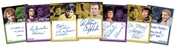 2020 Rittenhouse Star Trek TOS Archives and Inscriptions Trading Cards - Early Checklist 5
