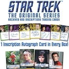 2020 Rittenhouse Star Trek TOS Archives and Inscriptions Trading Cards
