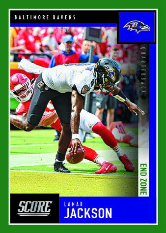 2020 Score Football Cards 3