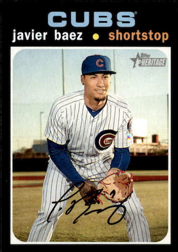 2020 Topps Heritage Baseball Variations Gallery and Checklist 10