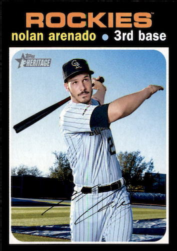 2020 Topps Heritage Baseball Variations Gallery and Checklist 24