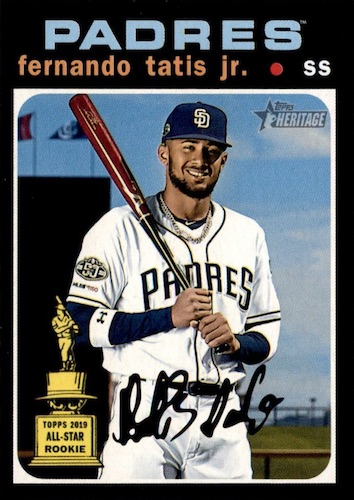2020 Topps Heritage Baseball Variations Gallery and Checklist 34
