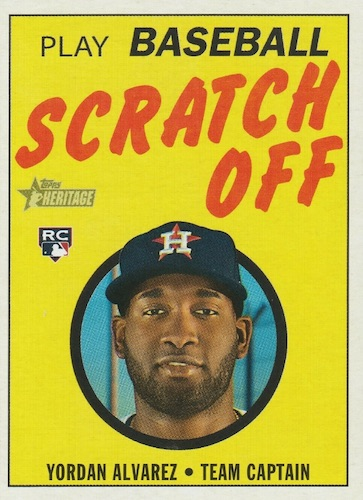 2020 Topps Heritage Baseball Cards 21