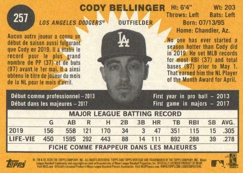 2020 Topps Heritage Baseball Variations Gallery and Checklist 113