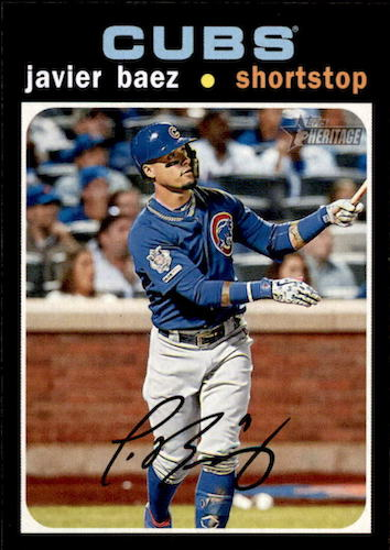 2020 Topps Heritage Baseball Variations Gallery and Checklist 11