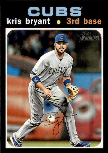 2020 Topps Heritage Baseball Variations Gallery and Checklist 21