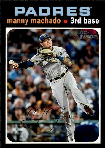 2020 Topps Heritage Baseball Variations Gallery and Checklist 23