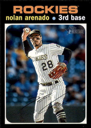 2020 Topps Heritage Baseball Variations Gallery and Checklist 25