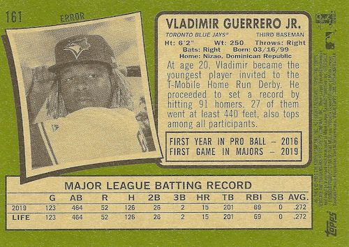 2020 Topps Heritage Baseball Variations Gallery and Checklist 58
