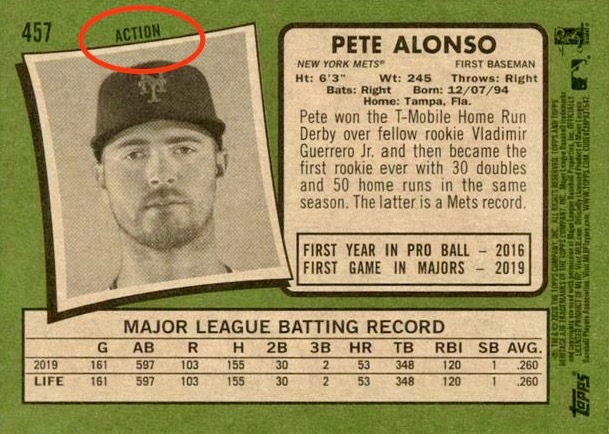 2020 Topps Heritage Baseball Variations Gallery and Checklist 1