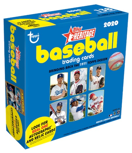 2020 Topps Heritage Chrome Mega Box Baseball Cards 3