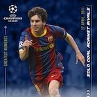 2020 Topps Lionel Messi Champions League Soccer Cards