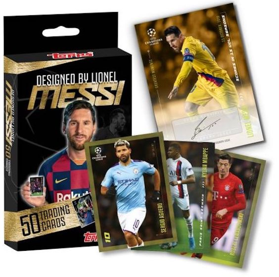 2020 Topps Lionel Messi Champions League Soccer Cards 3
