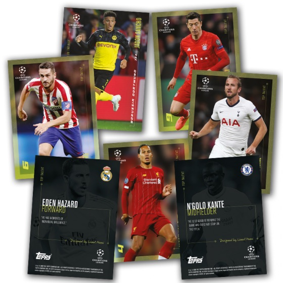 2020 Topps Lionel Messi Champions League Soccer Cards 1