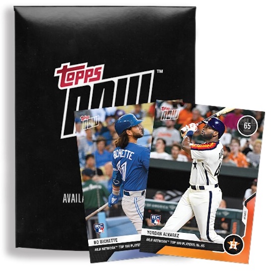2020 Topps Now MLB Network Top 100 Players Baseball Cards 3