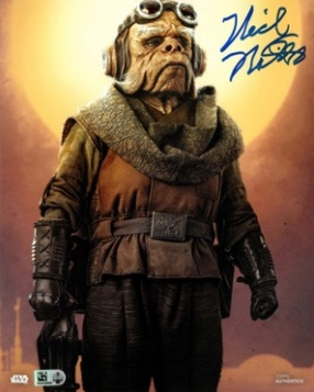 2020 Topps Star Wars Authentics Autographs 8x10 2