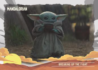 2020 Topps The Mandalorian Journey of the Child Trading Cards 1