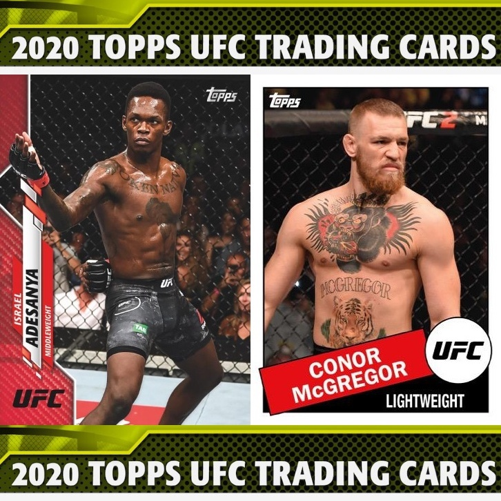 2020 Topps UFC Checklist, MMA Set Info, Buy Boxes, Date, Reviews
