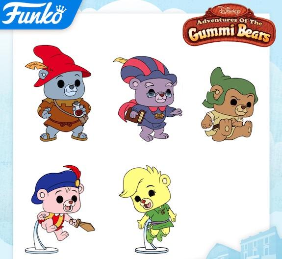 Funko Pop Adventures of the Gummi Bears Figures 1